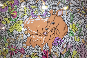 Colouring in on an Apple MacBook