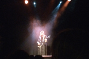 Cat Power on stage in Islington