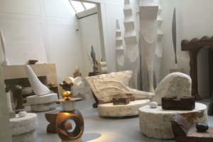 Constantin Brancusi's studio next to the Pompidou Centre