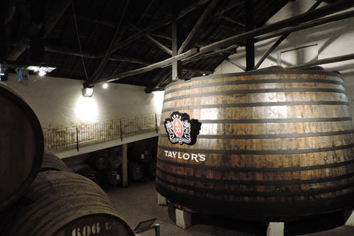 Inside the Taylor's Port cellars