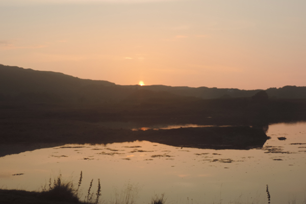 Sunset on the island of Mull