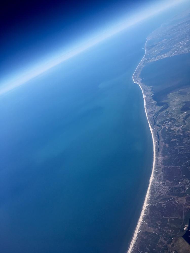 The Scandinavian coast line