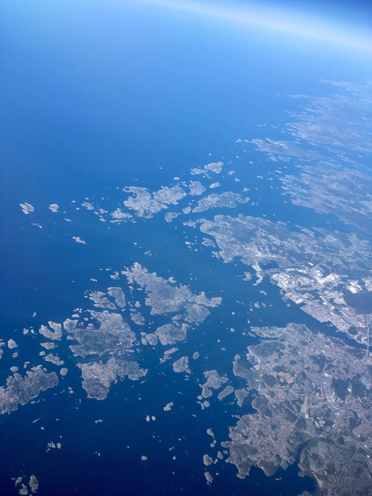Islands off the coast of Norway