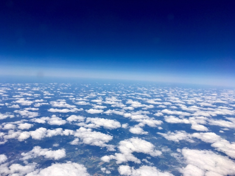 Beautiful clouds over Sweden