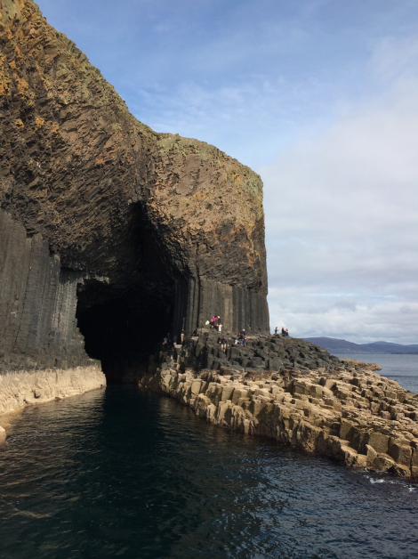 Fingal's Cave at the island of Staffa