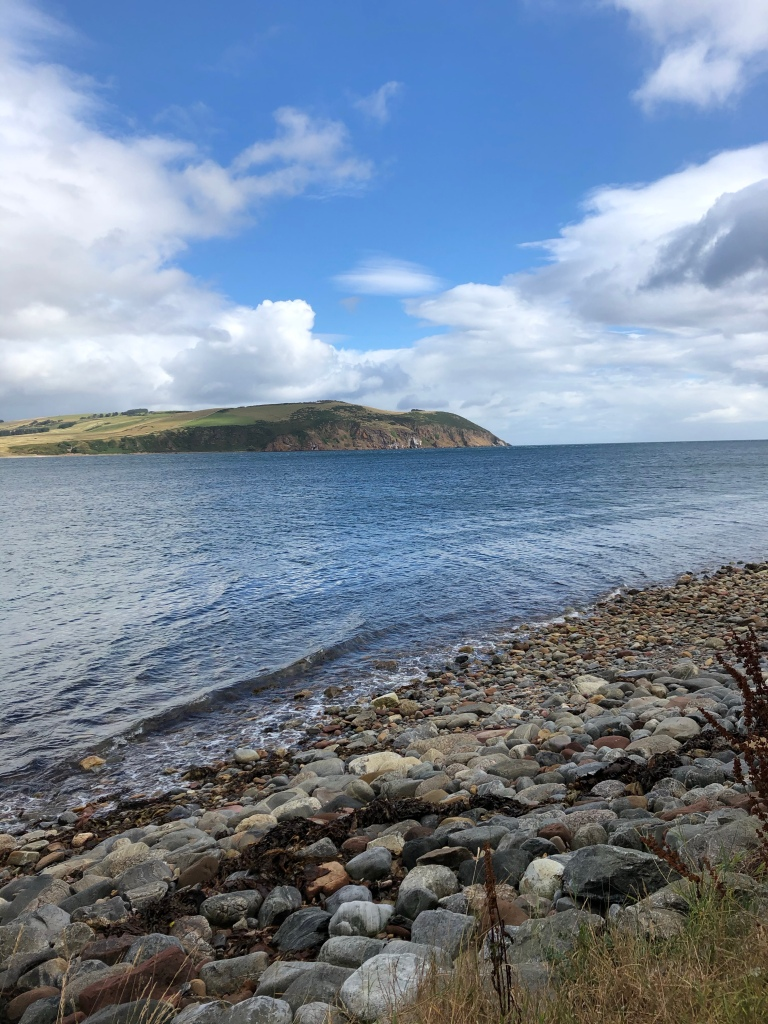 Out from Cromarty headland