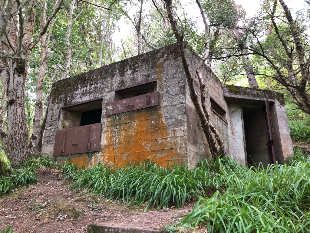 A World War One bunker