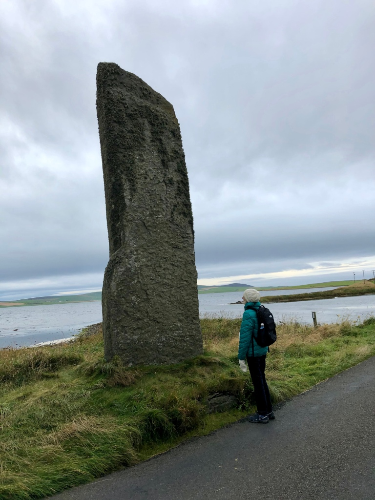 One of the Standing Stones of Stenness