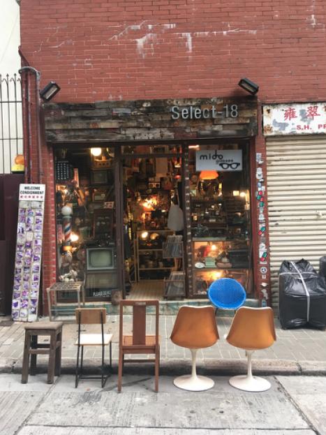 A second hand shop