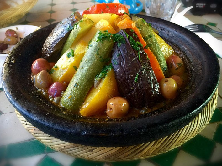 A traditional Berber style of tagine