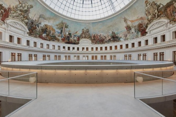 Inside the Japanese-designed Bourse de Commerce gallery