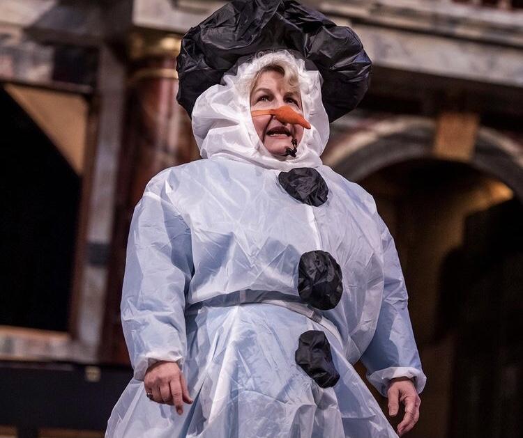 Sandi Toksvig at Shakespeare's Globe