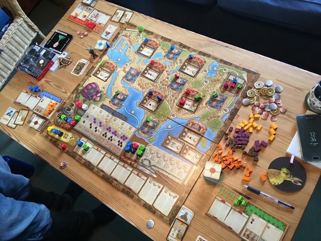 Marco Polo base game