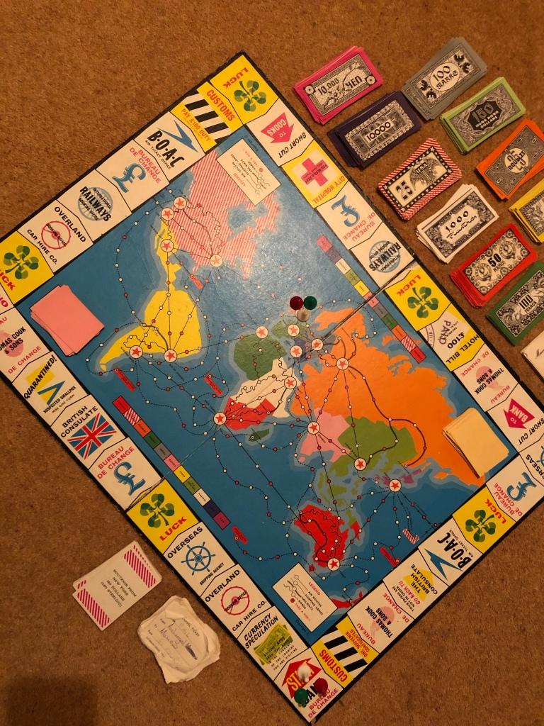 1960s GO! Board game