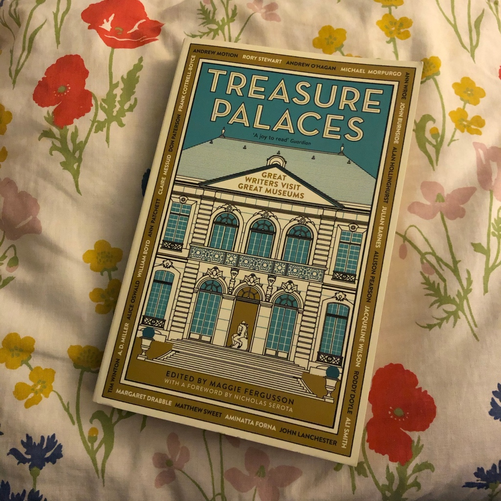 My copy of the book 'Treasure Palaces'