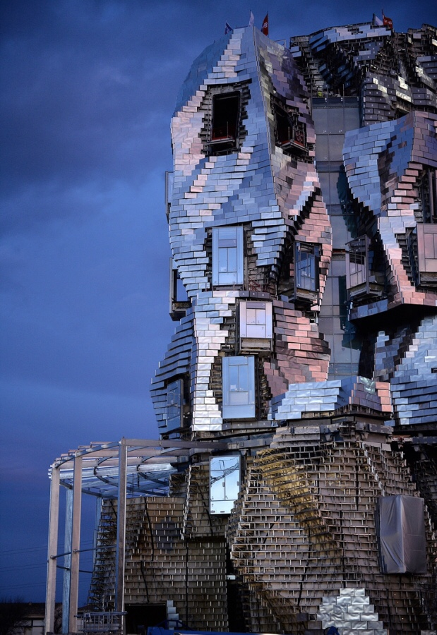 The Frank Gehry-designed Arts Resource Centre