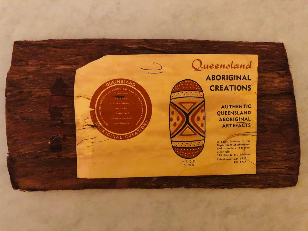 Queensland Aboriginal Creations postcard