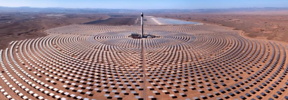 Morocco's Noor Solar Power Plant