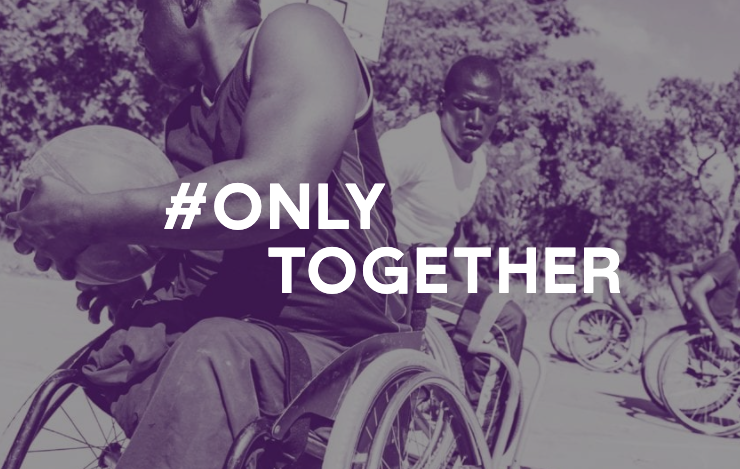 Only Together campaign imagery
